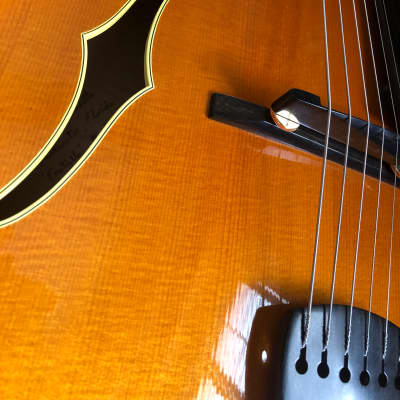Benedetto Fratello 1988 Honey Blonde Solely Hand Built by Robert Benedetto Mint Vintage Jazz Archtop for sale