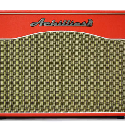 Achillies Nemesis 2x12 Celestion G12H Creambacks Red Speaker Cabinet for sale