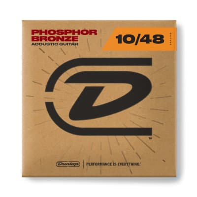 Dunlop DAP1048 Phosphorus Bronze Acoustic Guitar Strings Set 10-48