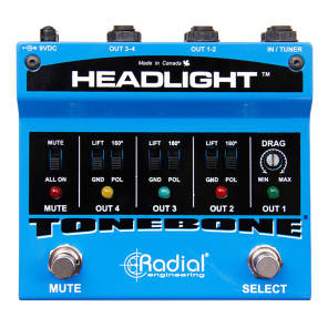 Radial ToneBone Headlight Guitar Amp Selector