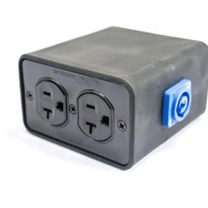 Elite Core Audio SP-PQB Stage Power Rubber Modular PowerCon Quad Box