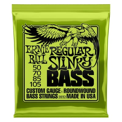 Ernie Ball 2832 Regular Slinky Nickel Wound Electric Bass Strings 50-105