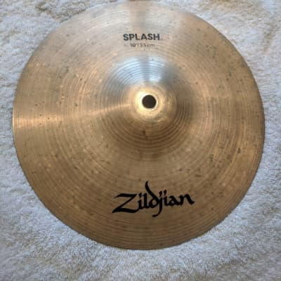 "Vintage Zildjian A 10"" Splash Cymbal"