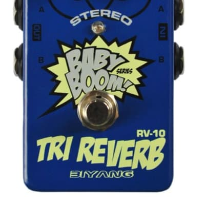 Biyang RV-10 Tri-Reverb Proven Player Verb Excellent Price Fast U.S. Ship  No wait times for sale