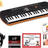 Casio SA-76 Mini Keyboard w/ Power Adapter