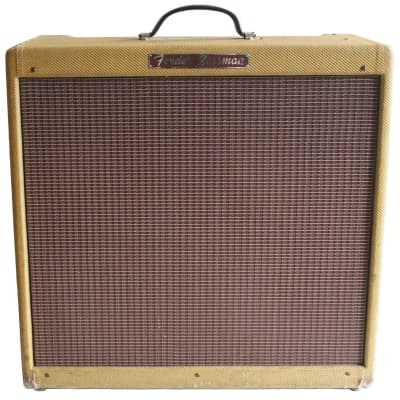 """Fender Bassman 5F6 Narrow Panel 40-Watt 4x10"""" Guitar Combo 1957 - 1958"""