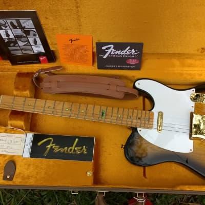 1998 USA Fender Collectors Edition Telecaster 2T Sunburst for sale