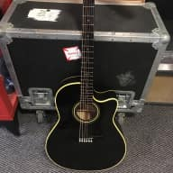 <p>Yairi Alvarez DY87 Acoustic/Electric 1990 Translucent Black</p>  for sale