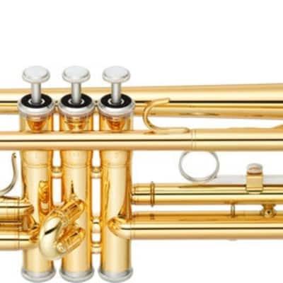 Yamaha Standard Trumpet Bb Gold Epoxy Lacquer