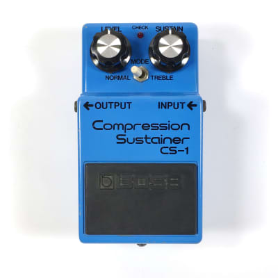 BOSS CS-1 Compression Sustainer (Made in Japan)