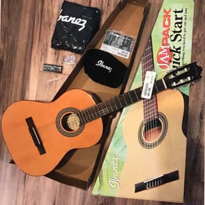 IBANEZ IJC30 QUICK START 3/4 CLASSICAL GUITAR COMPLETE JAM PACK for sale