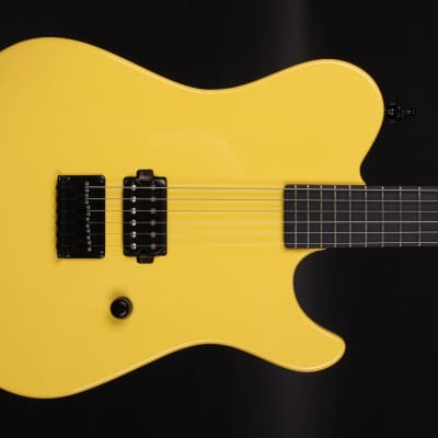 KD Silvia Yellow Chick #004 Handmade Boutique Electric Tele style Guitar for sale