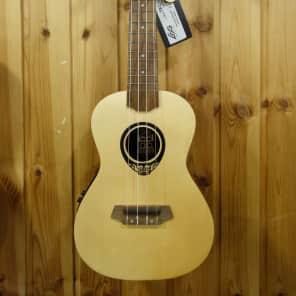 Lag TKU150CE Tiki Uku Ukulele Concert Acoustic Electric for sale