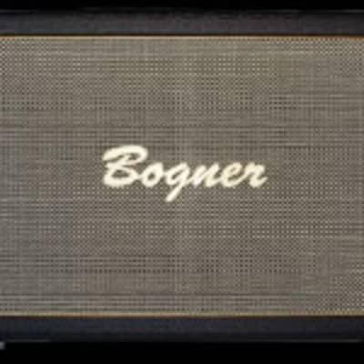 Bogner Amps 2x12 Closed Back Bottom Stack Cabinet - Salt & Pepper Grille for sale