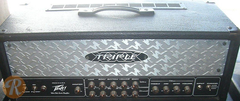 Peavey triple xxx ii amplifier wins guitar world platinum award