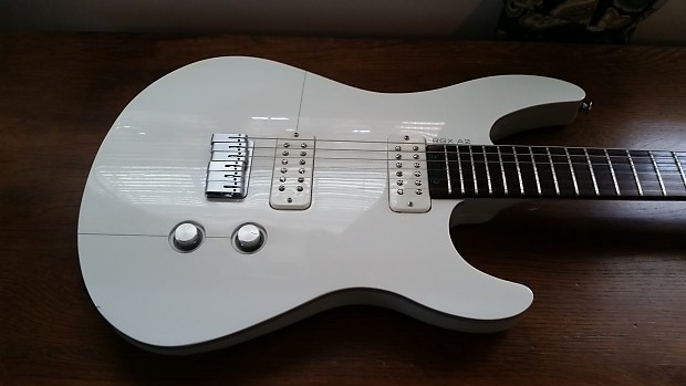 yamaha rgx a2 electric guitar in artic white gray w gig. Black Bedroom Furniture Sets. Home Design Ideas