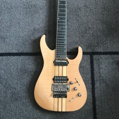 Schecter Banshee Elite-7 FR S 7-String Sustaniac w/ Floyd Rose Gloss Natural for sale