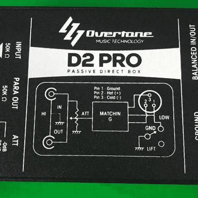 Overtone D2 Pro - High-Performance Passive Direct Box