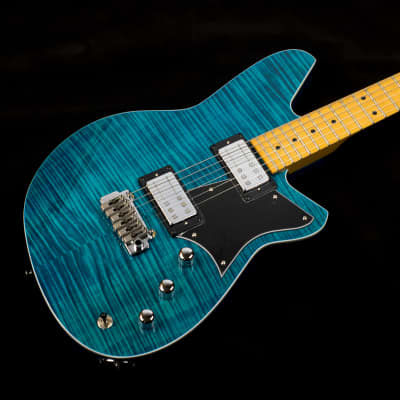 Used Reverend Kingbolt RA FM in Turquoise for sale