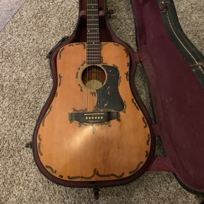 Guild D-35 1969 Natural: Unlike any other: Original Case for sale