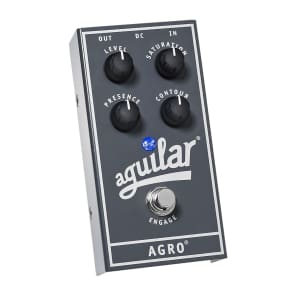 Aguilar AGRO Bass Overdrive Bass Effects Pedal Regular for sale