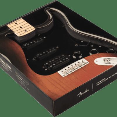 Fender USA Pre-Wired Strat Pickguard Shawbucker/Gen 4 noiseless HSS Black