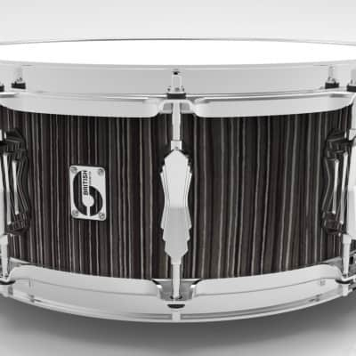 British Drum Company Legend Series Snare Drum - 14.6.5 - Carnaby Slate