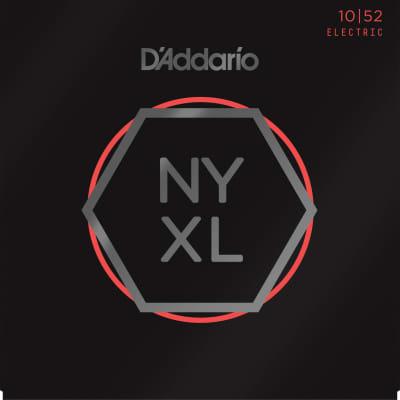 1 Set of D'Addario NYXL 1052 | Electric Guitar Strings |  Light/Heavy Gauge 10-52