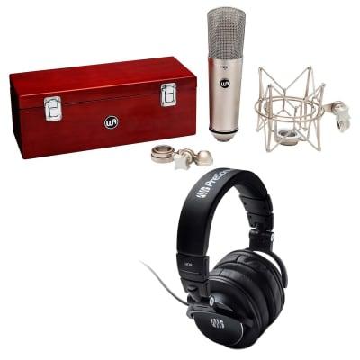 Warm Audio WA87 R2 Condenser Microphone (Silver), Presonus HD9 Bundle