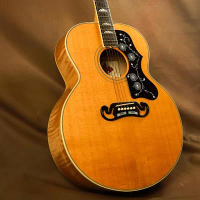 1994 Gibson SJ-200 Ebony Fretboard Acoustic Guitar J-200 for sale