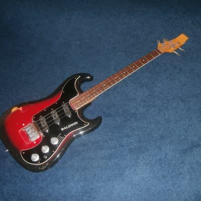 Vintage 1960's Burns Baldwin Jazz Bass Project! Original Pickups, Tuners! for sale
