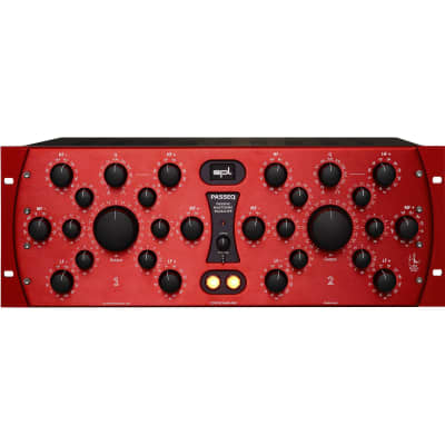 SPL PASSEQ Passive Mastering Equalizer for Pro Audio Applications (Red)