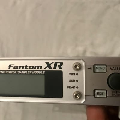 Roland Fantom-XR Synth / Sampler //256MB Ram  // with 4x SRX card