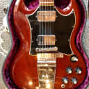 """1969 Gibson SG Standard """"Large Guard"""" with Lyre Vibrola"""