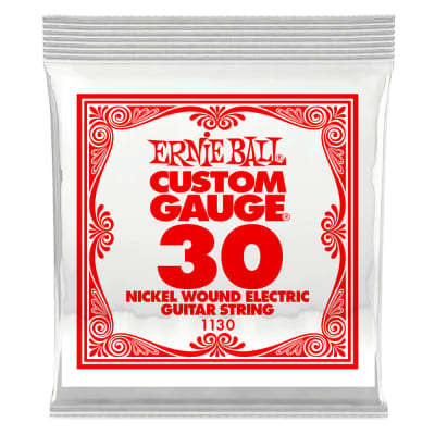 Ernie Ball Single .030 Nickel Wound String