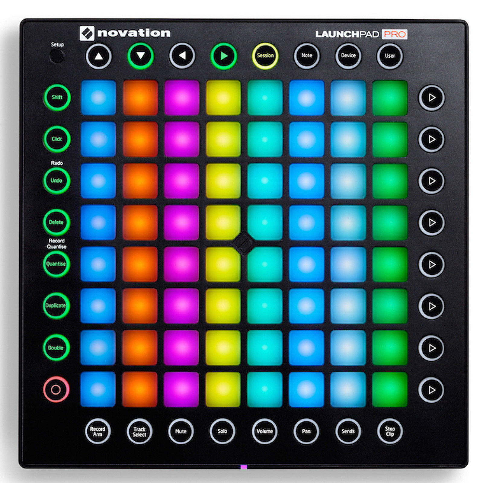novation launchpad pro usb midi controller reverb. Black Bedroom Furniture Sets. Home Design Ideas