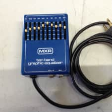 MXR Vintage 10 band graphic equilizer Blue