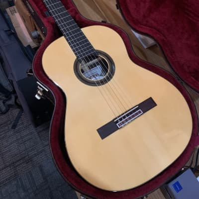 Camps SP6S 2020 MADE IN SPAIN Lacquer Spruce Classical Nylon String Concert Guitar