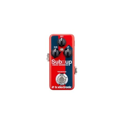 TC Electronic Sub 'N' Up Mini Octaver Pedal for sale