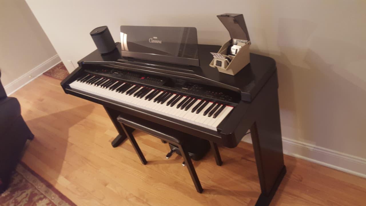 Yamaha cvp 55 clavinova reverb for Yamaha clavinova clp 110