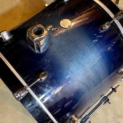 Mapex Meridian Maple Bass Drum Blue Fade
