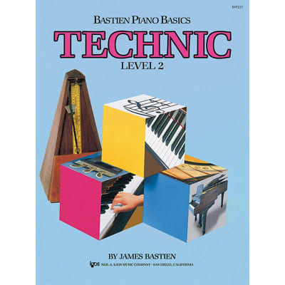 Bastien Piano Basics: Technic - Level 2 by James Bastien (Method Book)