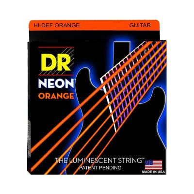 DR Neon Electric Strings 09-42 Orange