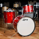 Ludwig 12/14/20 Club Date Red Sparkle 1960s