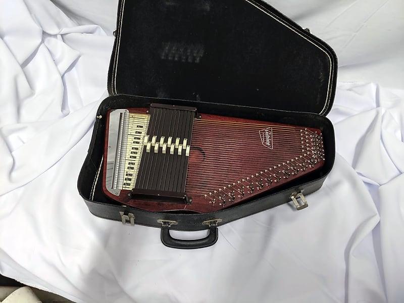 vintage oscar schmidt 36 string 12 chord autoharp with case reverb. Black Bedroom Furniture Sets. Home Design Ideas