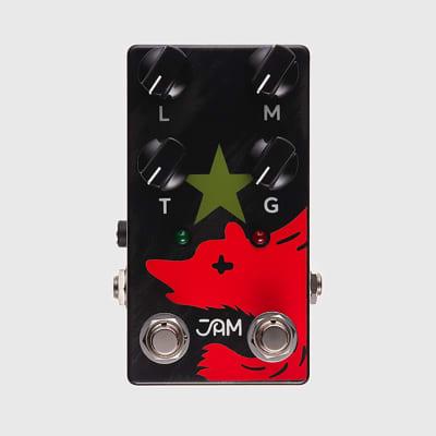 JAM Pedals Red Muck Bass Fuzz-Distortion Bass Guitar Effects Pedal
