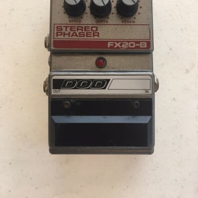 DOD Digitech FX20B Stereo Analog Phaser Phase Shifter Guitar Effect Pedal *READ*