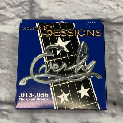Everly 13-56 Acoustic Sessions Phosphor Bronze Guitar Strings for sale