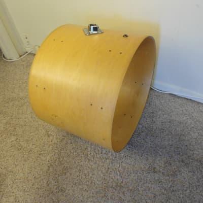 "Ludwig bass drum shell - 16x22"""