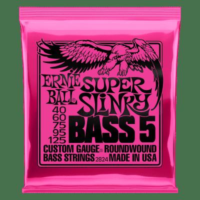 Ernie Ball Super Slinky Bass 5 Strings 40-125